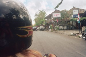 Cruisin the streets of Bali